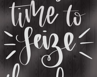 """Instant Download - Room/Home Decor - Hand-Lettered Quote from """"Newsies"""""""