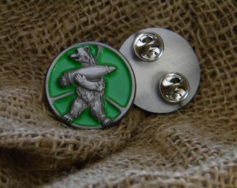 Wojtek Army Bear 3D Enamel Pin