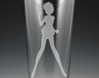 Sailor Mercury Pint Glass