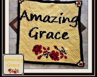 Amazing Grace C2C Graph, Amazing Grace Crochet Pattern, C2C Graph, Crochet Pattern