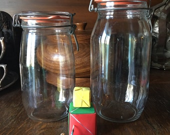 French Canning Jars Triomphe Canister 1.5 Liter