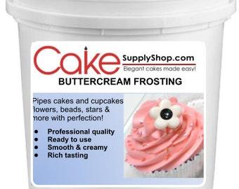 Eggnog  Buttercream Frosting 6lb Bucket