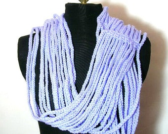 Strands Scarf Crocheted Pattern PDF EASY - permission to sell what you make on all my patterns