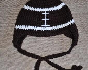 Football hat baby hat