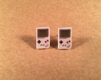 Gameboy Handheld Game Stud Earrings