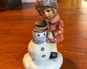 Berta Hummel 'A Gift for Snowman' Figurine