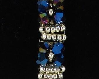 Blue Bling Bracelet