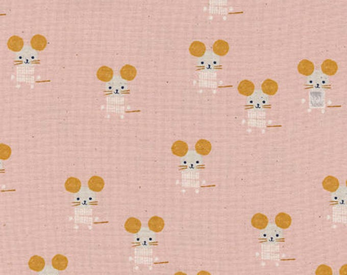 Little Friends in Pink -Sunshine -Alexia Abegg for Cotton + Steel