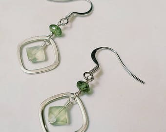 Prehinite Delight Earrings