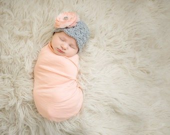newborn girl hat, baby girl hat, baby hat, newborn girls hat, crochet baby hat, baby girls hat, crochet newborn hat, baby girl winter hat