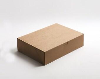 Kraft Boxes / Large / Plain / Box with Lid