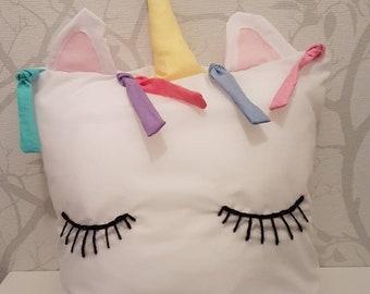 Unicorn cushion and insert