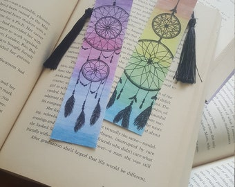 Beautiful Handmade Dreamcatcher Bookmark