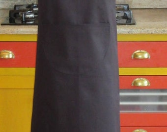 Apron Béarn embroidered Béarnaise cowhide, cotton, very covering, one size