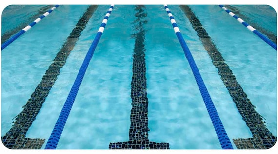 Lane Lines Swim Swimmer Swimming Pool Phone Case Iphone 4 5
