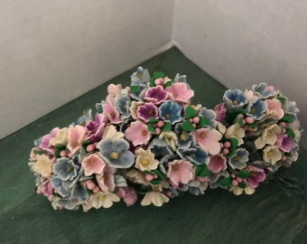 Vintage Ginny Cissie Madame Alexander millinery doll hat forget me not flowers lot 3