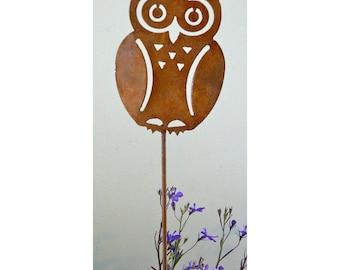 Owl Garden Decor | Etsy