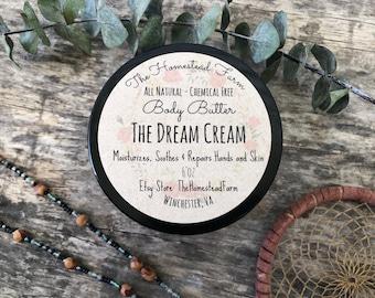 The Dream Cream Body Butter Moisturizer