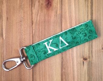 Kappa Delta Keychain - Personalized KD Sorority Keychain Key Fob