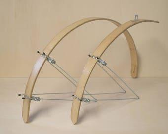Bicycle, bamboo fenders