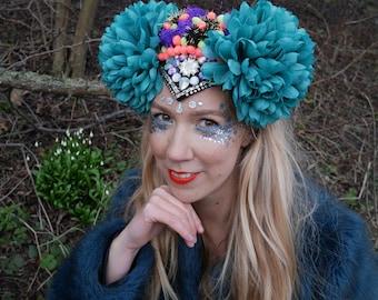 Personalised Custom made Headpiece - Flower Crown - Festival Hats