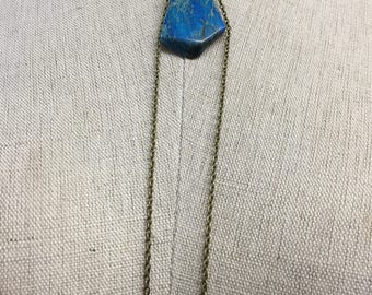 CA Stone Necklace_Blue