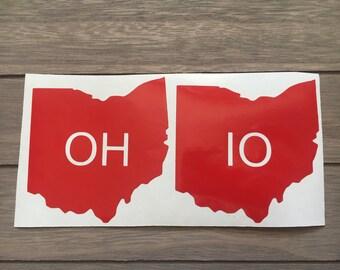 Ohio Couples Decal