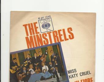"""7  """"  the minstrels  miss katy cruel"""
