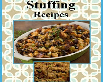 211 Stuffing Recipes E-Book Cookbook Digital Download