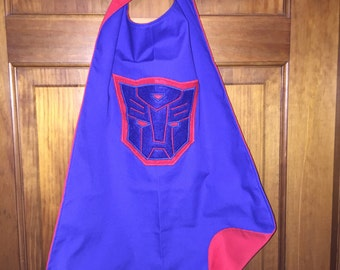 TRANSFORMERS Kids Superhero Cape/Costume