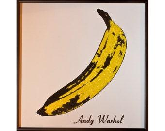 Glittered Velvet Underground Album - Warhol