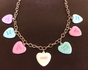 HALF PRICE SALE  Chunky Heart Necklace