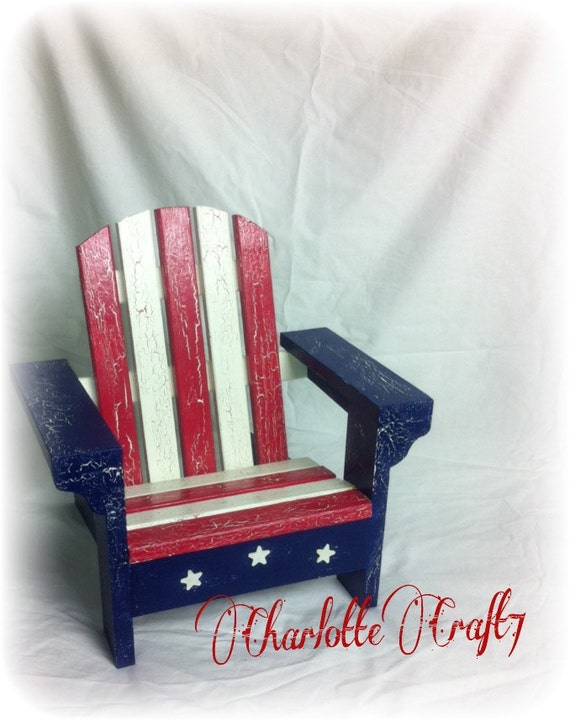 Distressed Chair Bench Photography Prop