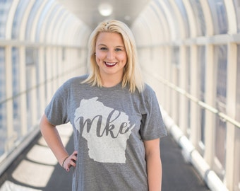 Milwaukee Shirt // MKE // Wisconsin Shirt // Gift For Her // Gift For Him // The Busy Bee