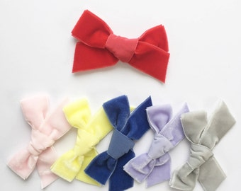LIMITED EDITION - Velvet Hair Bows