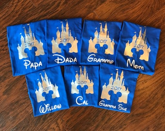 Disney Family Shirts,Matching Family Disney Shirts,Personalized Disney Shirts for Family and Women,Family Shirts,Family Shirt,Quality SHirt