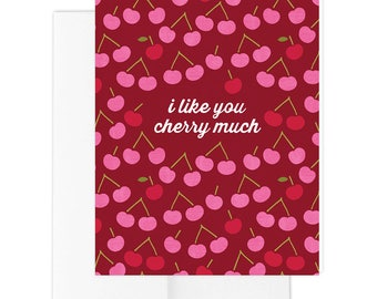 Cherry Much Greeting Card