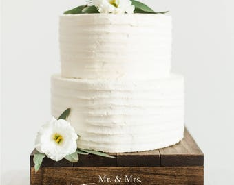 Rustic Cupcake Stand | Rustic Wood Cake Stand | Rustic Birthday Cake Stand | Rustic Cake Stand | Wedding Cake Stand - WS-262