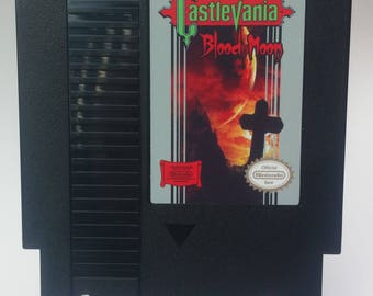 Castlevania Blood Moon for Nintendo NES High Quality, Free Shipping!