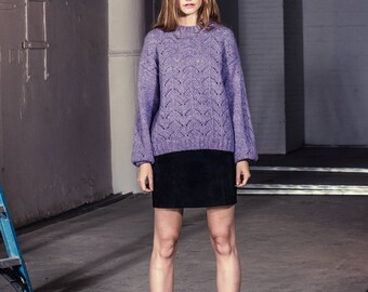 Harper Pointelle Sweater
