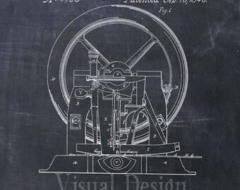 Sewing Machine Patent Print, Sewing Patent Art Print, Sewing Gift, Sewing Art, Sewing Print, Sewing Art Print, Patent Prints