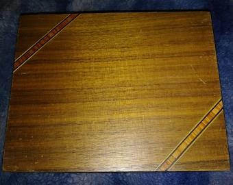 Vintage Wood Jewelry/ Trinket Box