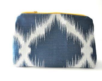 Zip pouch, zipper pouch, modern pencil case, bullet journal pen case, makeup pouch, zippered case, zippered pouch