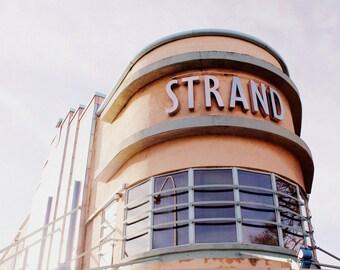 Art Deco Photography - Strand Cinema Print - Belfast Northern Ireland - Architecture Print - 1930s Theatre - 8x12