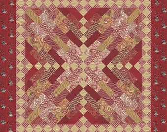 RUE INDIENNE Quilt Pattern By French General FG RI04