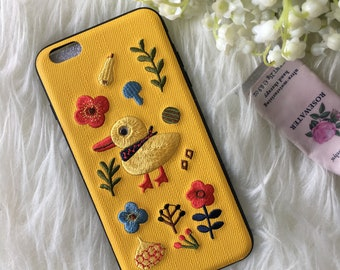 Embroidery CUTEST iPhone case