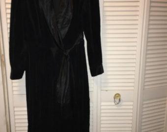 Black Tuxedo Gown