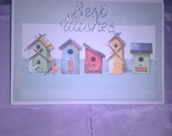 nesting box birthday card suitable for any adult