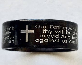 Lord's Prayer / Our Father Ring