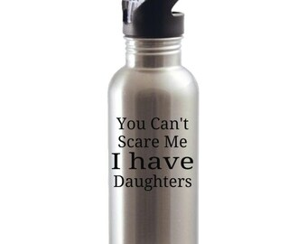 Daughters Water Bottle, Father's Day Gifts, Father's Day Presents, Father's Day Gift Ideas, Gifts For Dads